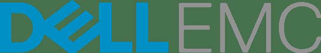 Logo des Unternehmens Dell EMC