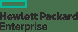 Logo des Unternehmens HPE, Hewlett Packard Enterprise