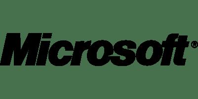 Logo des Unternehmens Microsoft