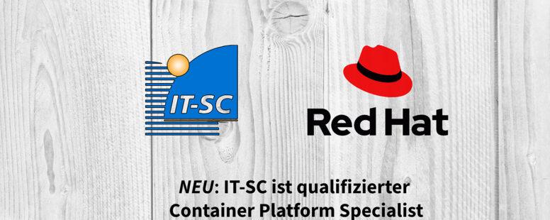 ITSC ist qualifizierter Container Plattform Specialist