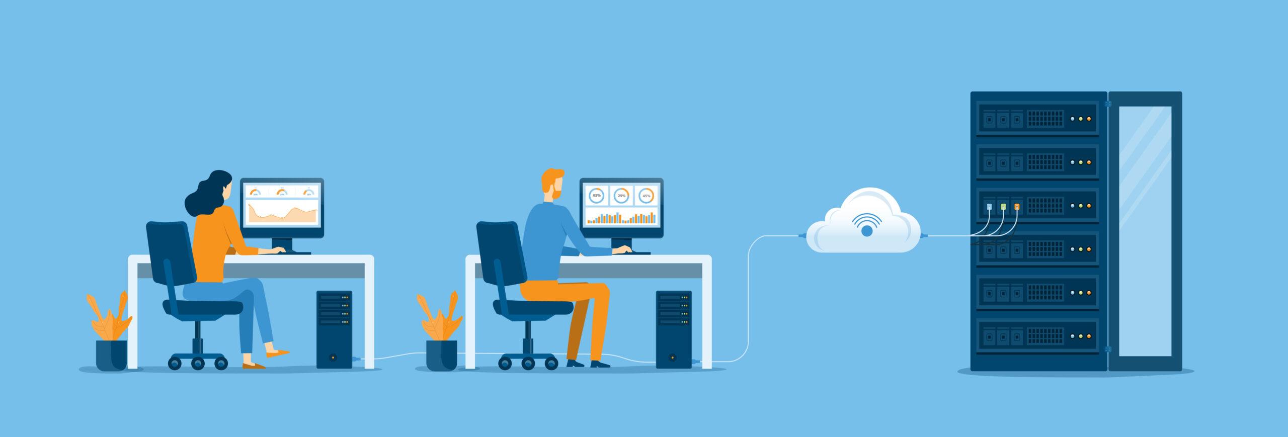 Visualisierung von Cloud Computing