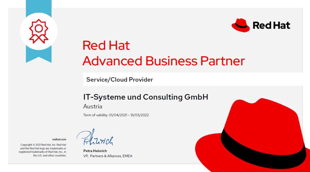 Zertifizierung als Advanced Business Partner