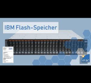 Flash-Speicher-System der IBM